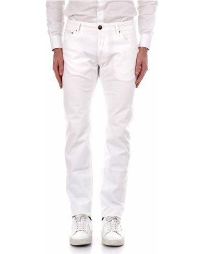 Białe spodnie Hand Picked