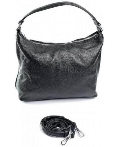Кожаная сумка - черная Parse
