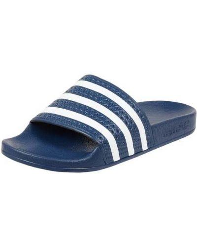 Niebieskie klapki Adidas Originals