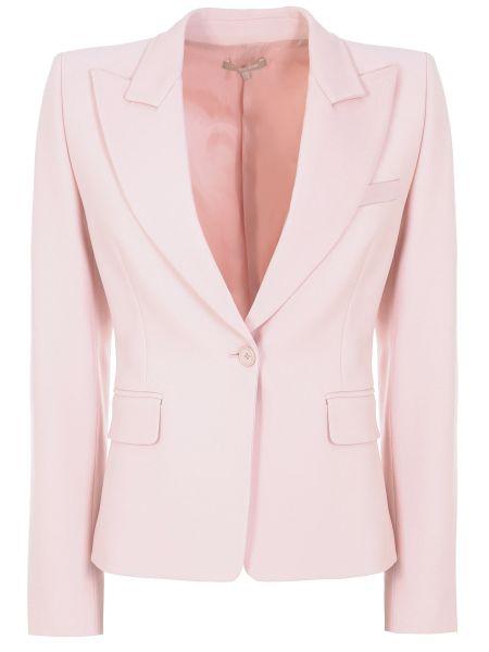 Шерстяной пиджак - розовый Michael Kors