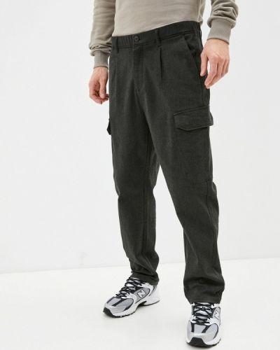 Серые брюки карго Qwentiny