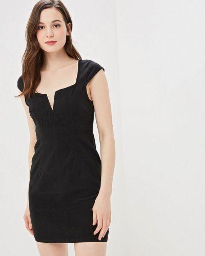 Черное джинсовое платье Free People