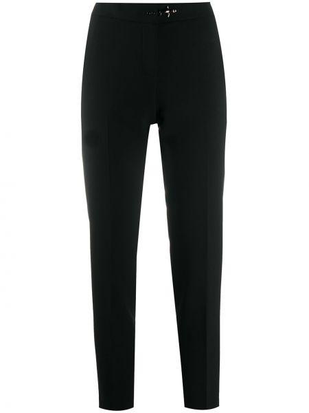 Брючные черные брюки с карманами Fay