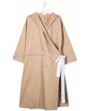 Платье с запахом с капюшоном Unlabel