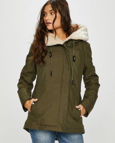 Утепленная куртка с карманами милитари Haily's