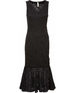 Вечернее платье миди ажурное Bonprix