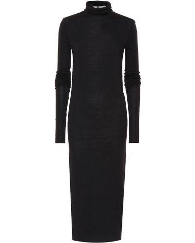 Платье с завышенной талией из ангоры Rick Owens