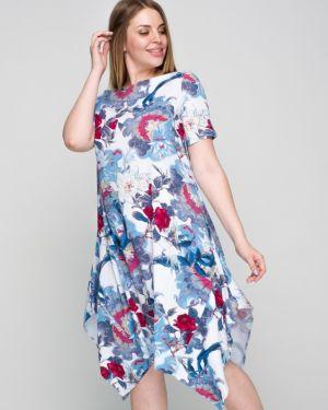 Летнее платье с цветочным принтом платье-сарафан Ellcora