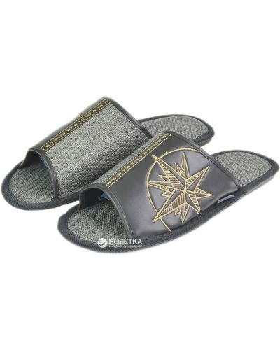 Спортивные тапочки - серые Fx Shoes