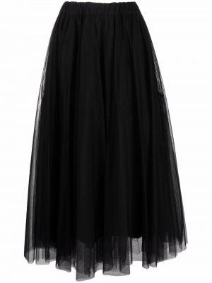Черная юбка из фатина P.a.r.o.s.h.