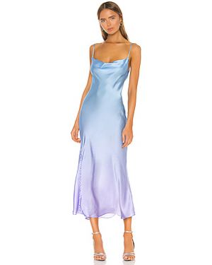 Платье макси на пуговицах на бретелях Olivia Rubin