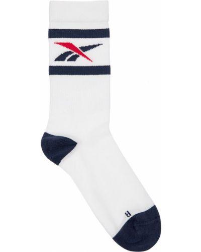 Хлопковые белые спортивные носки Reebok Classics