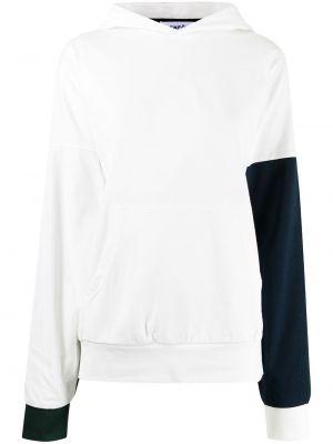 Bluza z kapturem - biała Enfold