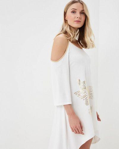 Белое платье весеннее Grishko