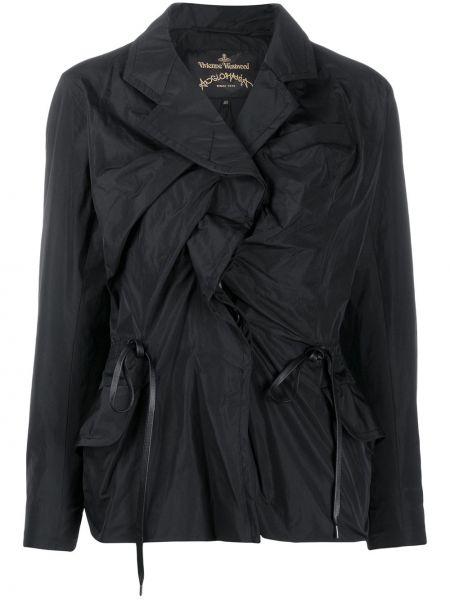 Черная длинная куртка Vivienne Westwood Anglomania