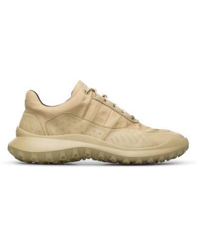Beżowe sneakersy sznurowane Camper