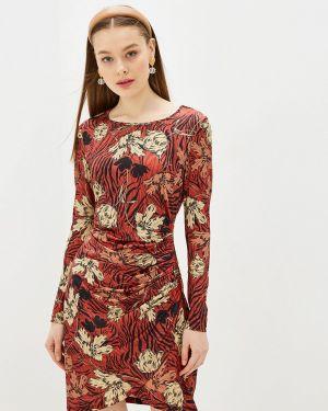 Платье - коричневое Yumi