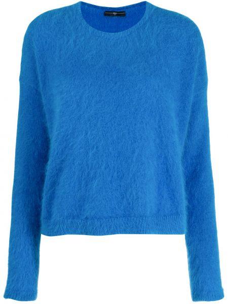 Niebieska bluza z długimi rękawami wełniana High By Claire Campbell