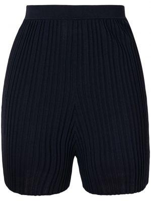 Синие с завышенной талией шорты с поясом Dion Lee