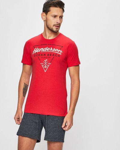 Piżama długo czerwony Henderson