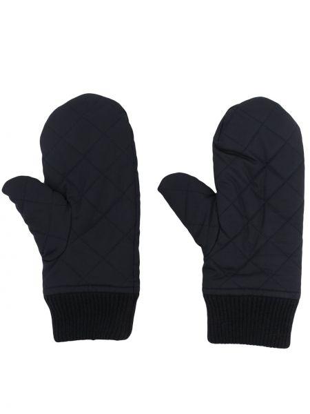 Niebieskie z kaszmiru rękawiczki N.peal