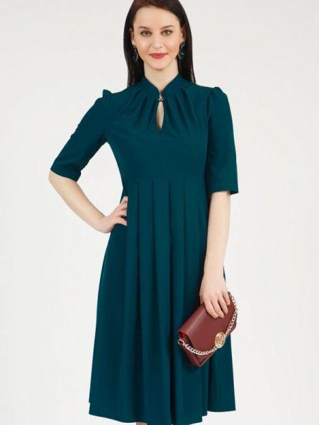 Повседневное платье зеленый весеннее Grey Cat