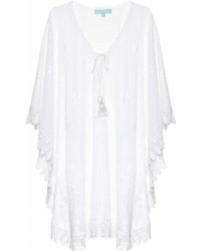 Белый пляжный кафтан Melissa Odabash