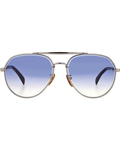 Okulary srebrne Db Eyewear By David Beckham