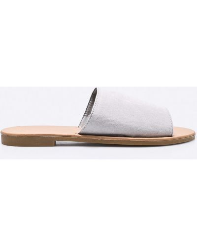 Серые сандалии Answear