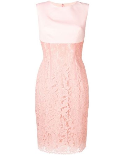 Розовое платье миди Sophia Kah