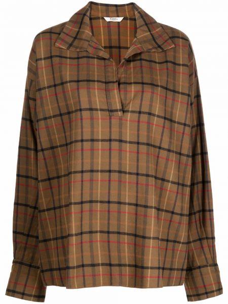 Рубашка с длинным рукавом - зеленая Barena