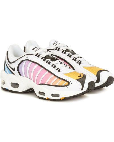 Skórzany sneakersy wysoki tekstylne Nike
