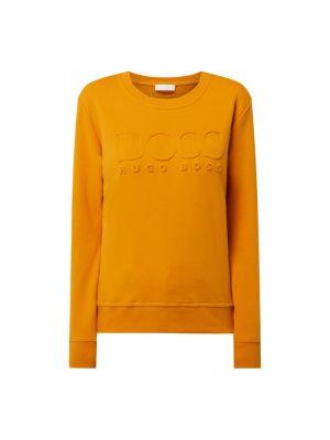 Bluza bawełniana - pomarańczowa Boss Casualwear