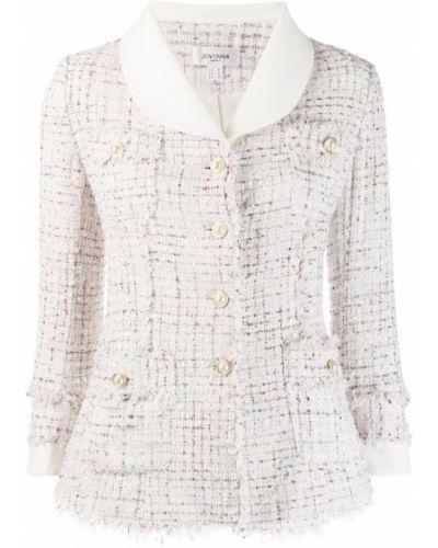 Пиджак твидовый - белый Jovonna