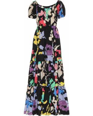 Летнее платье макси с цветочным принтом Caroline Constas