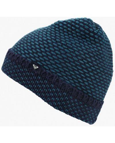 Синяя шапка осенняя Roxy