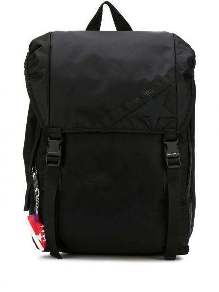 Черный рюкзак с завязками Golden Goose