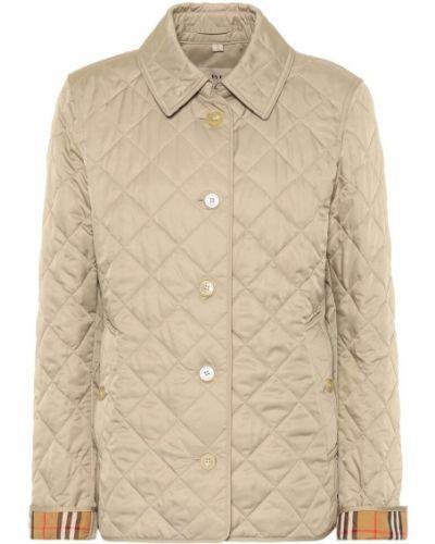 Стеганая куртка леопардовая классическая Burberry