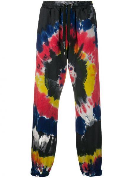 Спортивные серые прямые спортивные брюки с карманами Mauna Kea