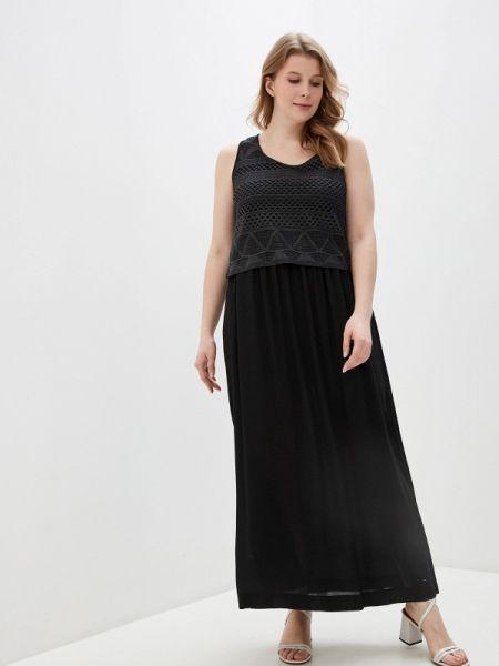 Повседневное платье черное весеннее Elena Miro