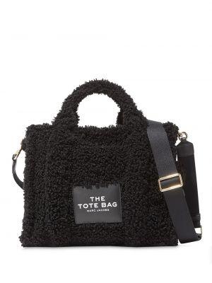 Черная сумка-тоут на молнии с карманами Marc Jacobs