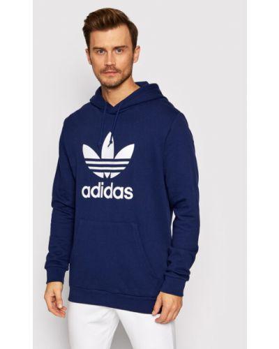 Bluza - fioletowa Adidas