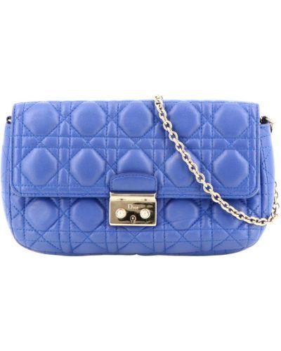 Niebieska torebka Dior Vintage