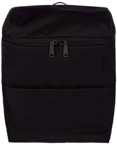 Czarny plecak na laptopa z nylonu Joop! Collection