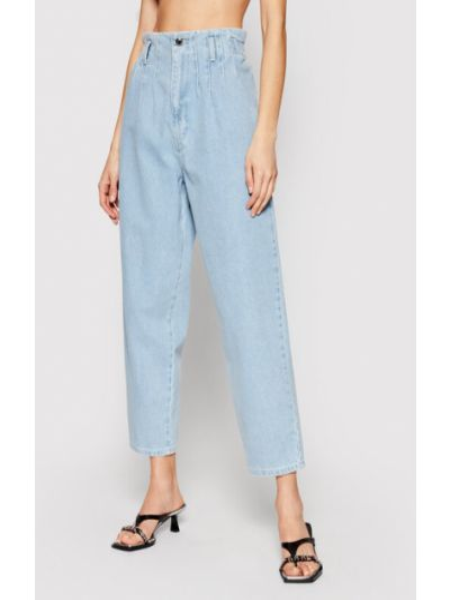 Niebieskie mom jeans Silvian Heach