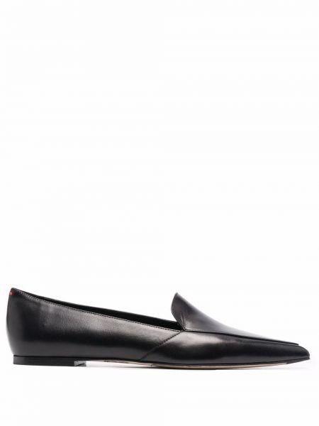 Czarne loafers Aeyde