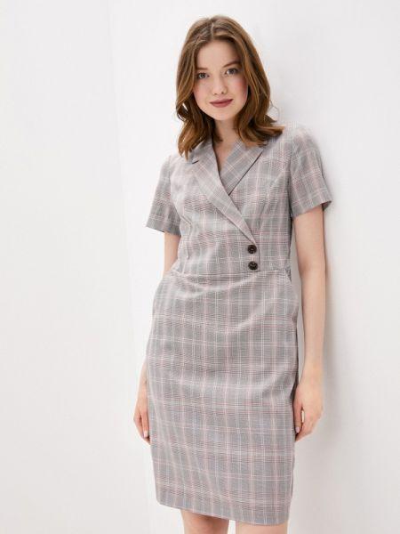 Платье прямое бежевое Baon