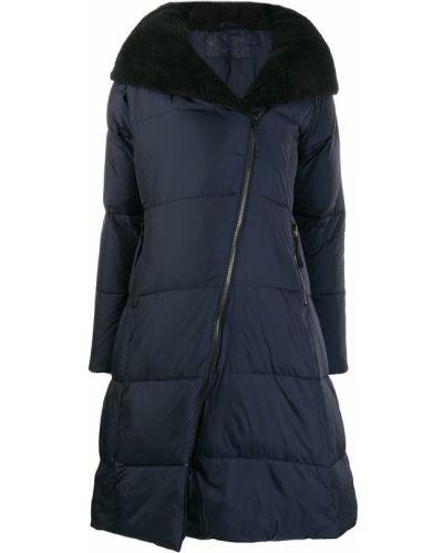 Флисовое коралловое расклешенное стеганое пальто Rundholz Black Label