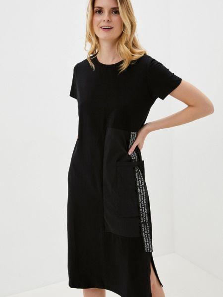 Черное футбольное платье снежная королева