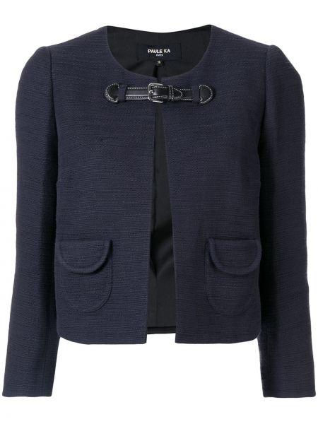 Синий пиджак Paule Ka